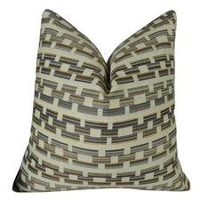 Square Link Handmade Throw Pillow