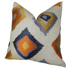 Native Trail Cayenne Handmade Linen Throw Pillow
