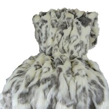 Rabbit Fur Handmade Throw