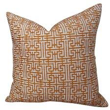 Maze Handmade Throw Pillow