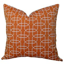 Ardmore Persimmon Handmade Throw Pillow