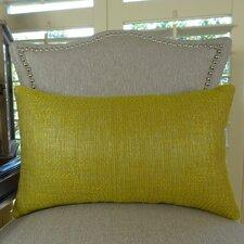 Lemon Curry Cotton Lumbar Pillow
