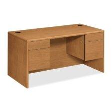 10700 Series Double 3/4 Pedestal Executive Desk