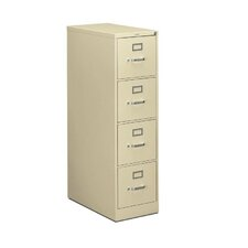 "310 Series 15""W 4-Drawer Letter File"
