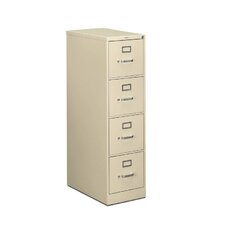 "510 Series 15""W 4-Drawer Letter File"
