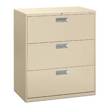 "600 Series 36""W 3-Drawer File"