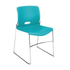 Olson Series Armless High-Density Stacking Chair (Set of 4)