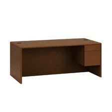 "10700 Series 72""W x 36""D Right Pedestal Desk"