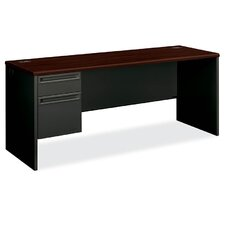 "38000 Series 72""W x 24""D Pedestal Desk"