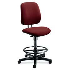 7700 Series Height Adjustable Drafting Chair with Adjustable Footring