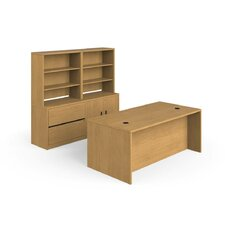 10500 Series 3-Piece Standard Desk Office Suite