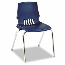 "Proficiency 18"" Plastic Classroom Chair (Set of 4)"