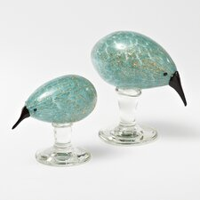 Kiwi Bird Figurine with Base