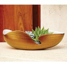 Golden Stripe Bowl
