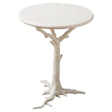 Faux Bois End Table