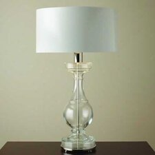 """Balustrade 39.75"""" H Table Lamp with Drum Shade"""