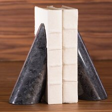 Pylon Marble Book Ends (Set of 2)