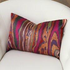 Wood Grain Cotton Lumbar Pillow