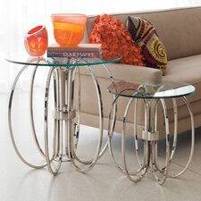 Small Oval Ring End Table