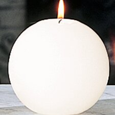 Unscented Ball Novelty Candle