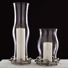 Linked Hurricane Base Candle Holder