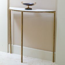 Hammered Console Table