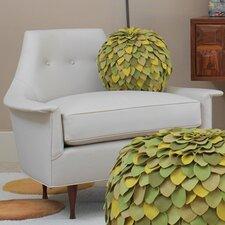Brigitte Cowhide Leather Armchair