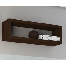 Accentuations Tichla Rectangle Floating Shelf 2.0 in Tobacco