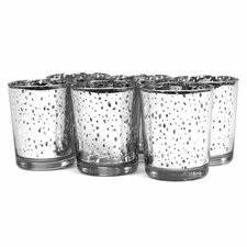 Antique Glass Votive (Set of 6)