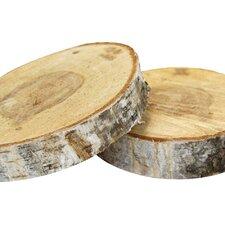 Natural Birch Wood Slab
