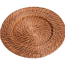 "13"" Rattan Charger Plate (Set of 4)"