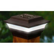 Imperial Solar 1 Light Fence Post Cap