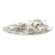 Wild Strawberry Miniature Teapot Set