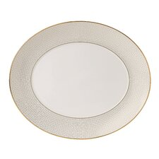 Arris Oval Serving Platter