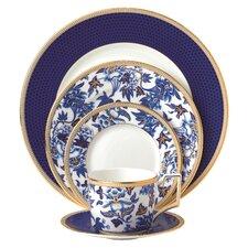 Hibiscus 5 Piece Dinnerware Set