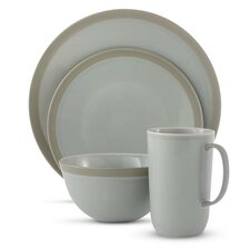 Vera Gradients 4 Piece Dinnerware Set