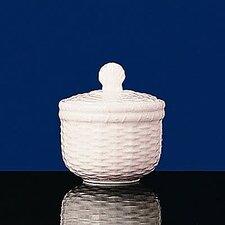 Nantucket Basket Sugar Bowl with Lid