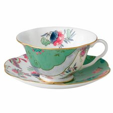 Harlequin Butterfly Bloom Butterfly Posy Cup and Saucer (Set of 2)