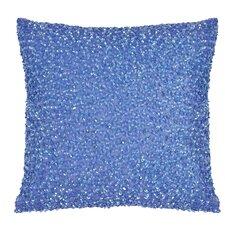 Vue Beaded Cotton Throw Pillow