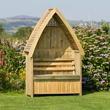 2 Seater Timber Arbour with Storage