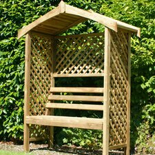 Rutland 2 Seater Timber Arbour