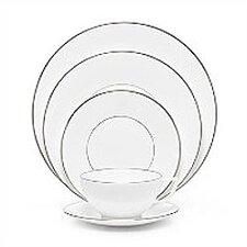 Platinum Fine Bone China 5 Piece Place Setting Set