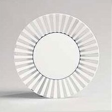 "Platinum Fine Bone China 9"" Striped Plate"