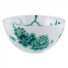 Chinoiserie White Serving Bowl