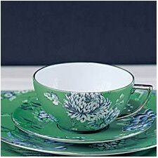 Chinoiserie Green Tea Saucer