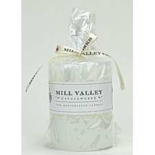 Sweet Cream Scented Pillar Candle