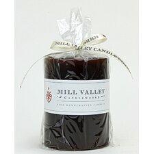Chocolate Mocha Scented Pillar Candle