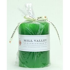 Rosemary Mint Scented Pillar Candle