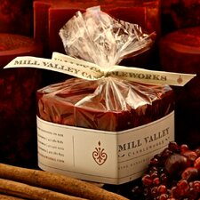 Cinnamon Cranberry Scented Novelty Candle
