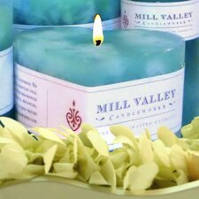 Floral Seaside Scented Novelty Candle